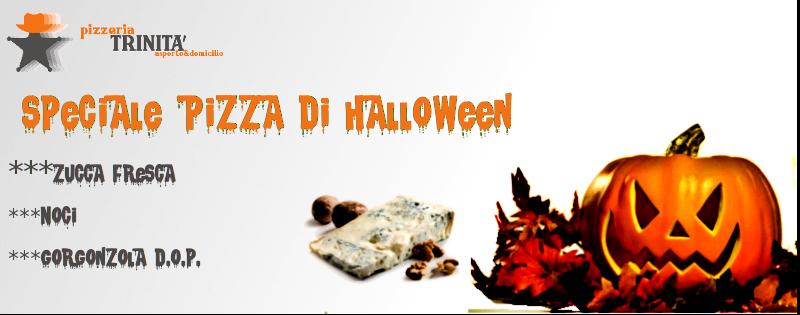 Pizza Halloween schio pizzeria asporto trinita